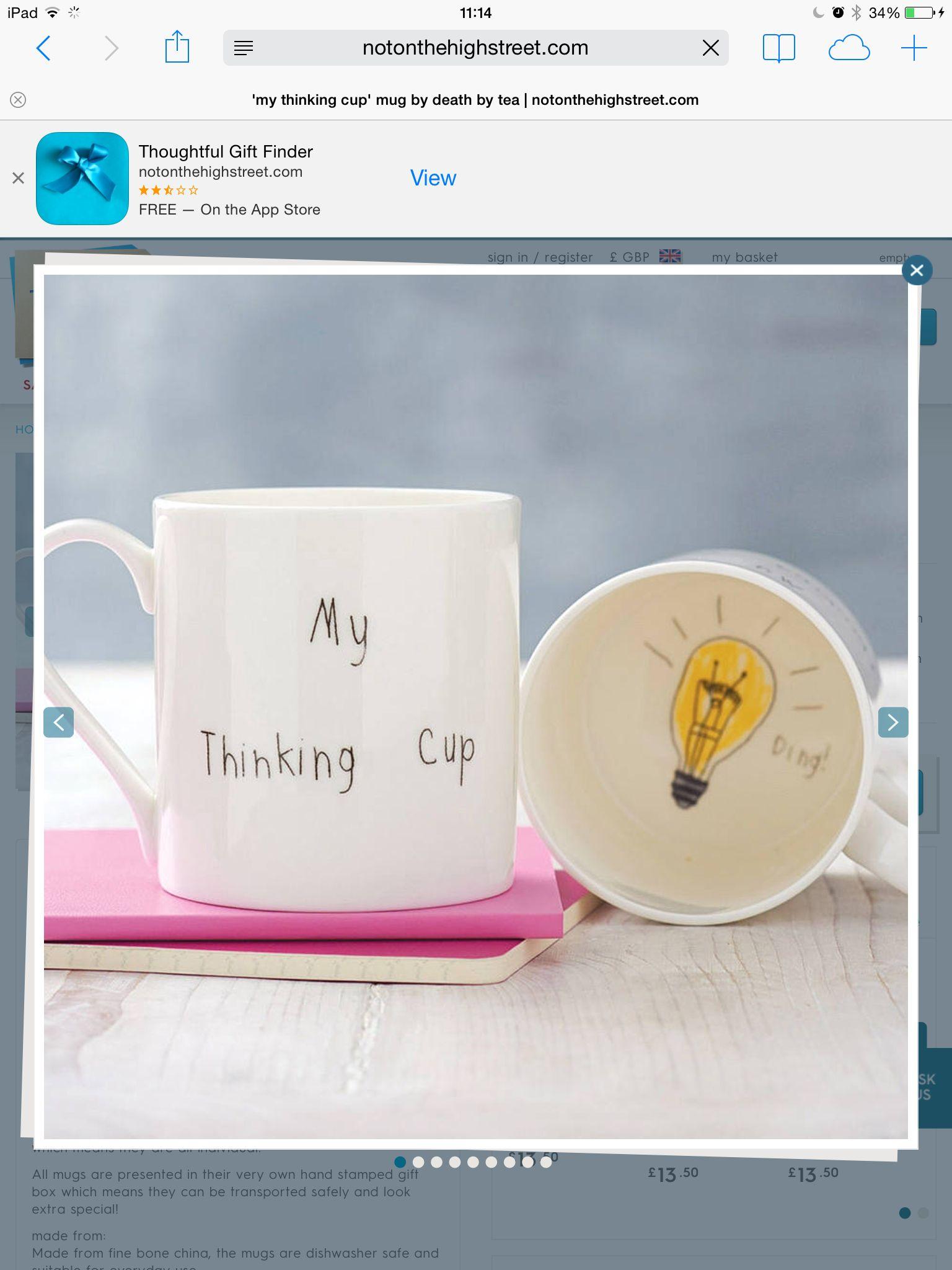 For John Mugs, Sharpie mug