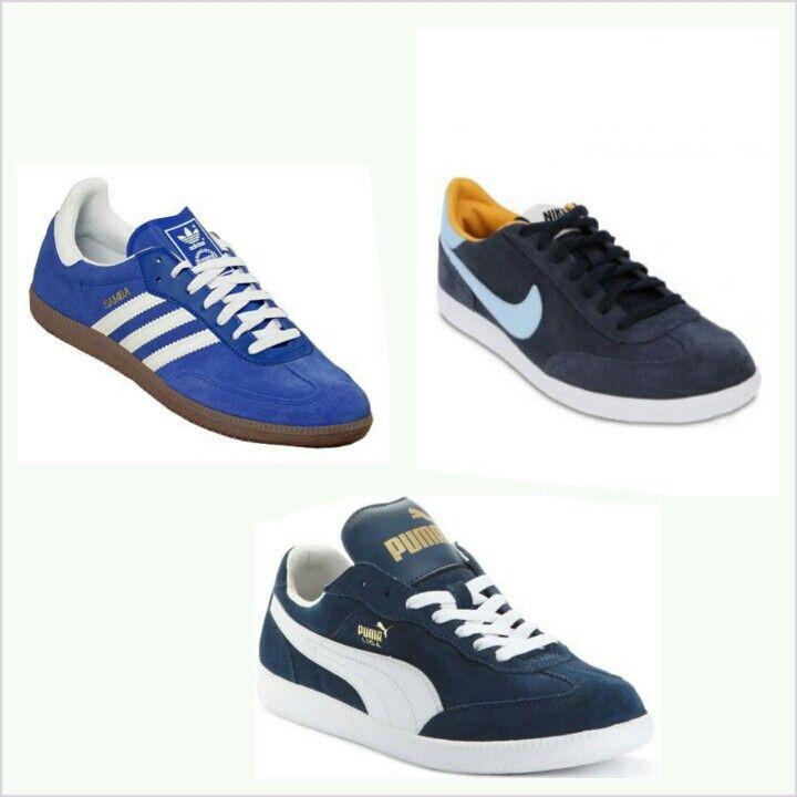 nike vs adidas vs puma shoes