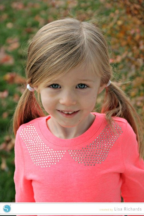 Rhinestone Peter Pan Collar