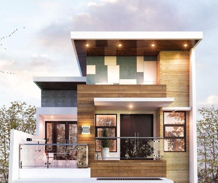 75 Model Rumah Minimalis 2 Lantai Sederhana Modern Desain Rumah Mewah Dan Elegan 2 Lantai Di Lahan 15 X 25 Rumah Minimalis Home Fashion Desain Rumah 2 Lantai