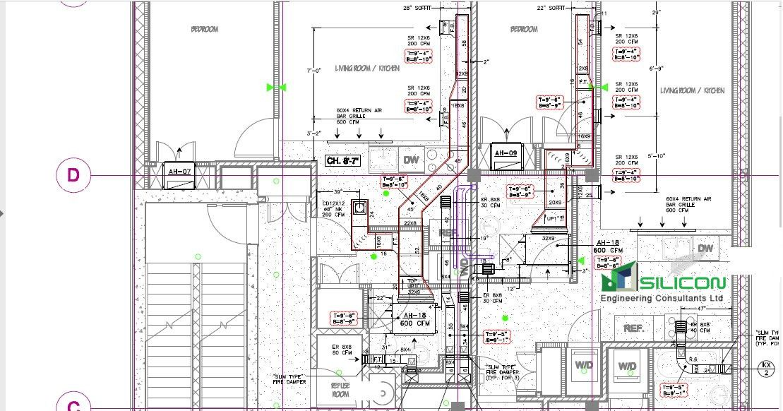 Pin on AutoCAD | Hvac Duct Drawing |  | Pinterest