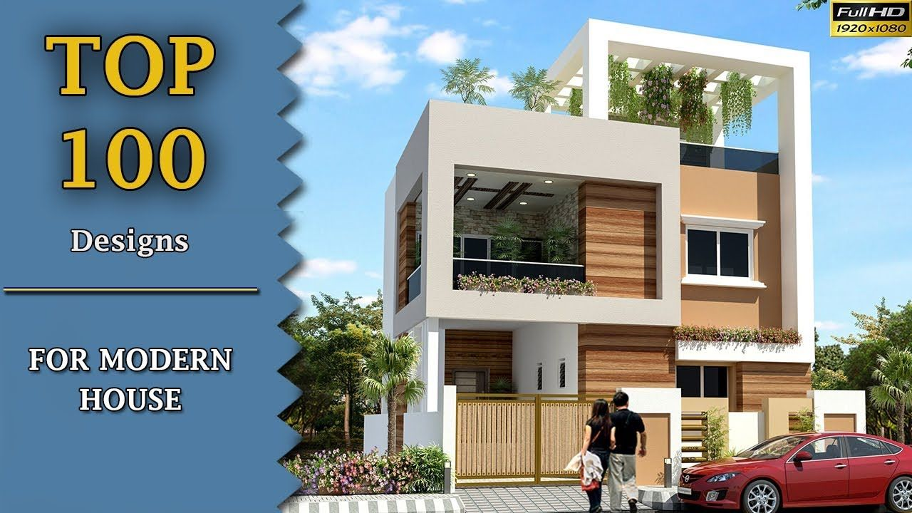10 Pics Review Two Floor Home Front Design And Descrition House Front Design Front Elevation Designs Contemporary House Design