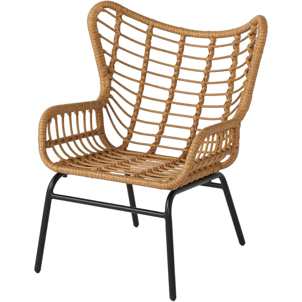 House & Home Steel Rattan Kids Chair - Natural  BIG W in 10