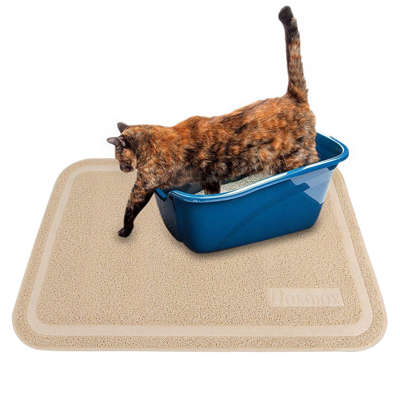 large mats cat stripe litter mat catsruleonline foam view products neutral ribbed perfect
