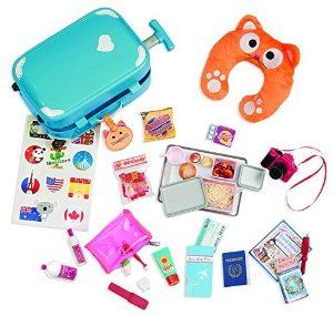our generation well traveled luggage set fun travel accessories for those beautiful dolls