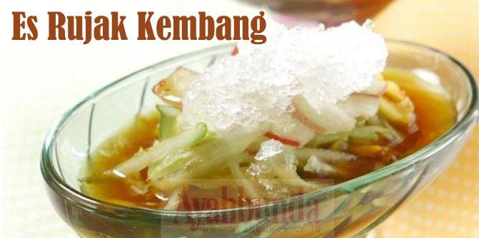 Es Rujak Kembang Fruit Salad Ice Klik Link Di Atas Untuk Mengetahui Resep Es Rujak Kembang Makanan Resep Makanan Resep