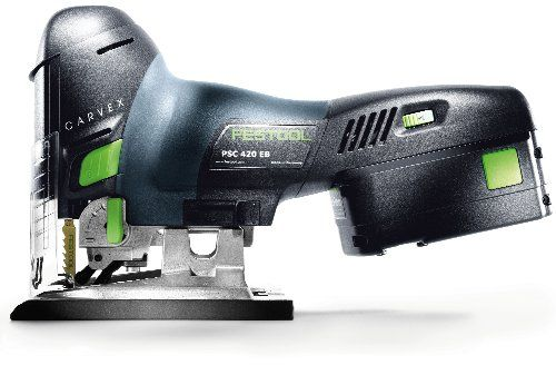 Festool 561668 Carvex Psc 420 Ebq Lithium Ion Cordless Jigsaw Woodworking Techniques Woodworking Tools Woodworking Tools Router