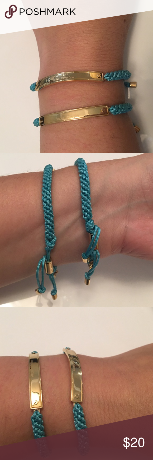 Michael Kors bracelet in turquoise Michael Kors turquoise bracelet. No trades. Michael Kors Jewelry Bracelets