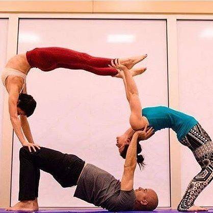 Circusinspiration On Instagram Announcing Circusinspiration Merchandise Tanks Tees Three Person Yoga Poses Partner Yoga Poses Yoga Challenge Poses