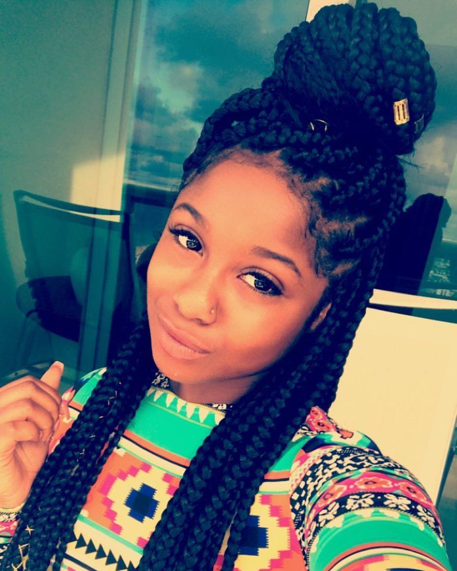 reginae carter | hair! in 2019 | hair styles, black girls