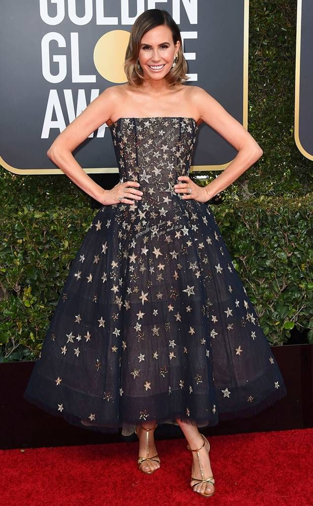 Keltie Knight, Golden Globes, Globes 2019, Golden Globes Best Dressed, Best Dressed 2019, Red Carpet, Red Carpet Fashion, Celebrity Best Dressed, Celebrity Fashion, Awards Season, What they Wore, On the red carpet, Celebrity style, Sarah In Style, Sarah Meyer, Celebrity looks, Beverly Hilton, awards show fashion