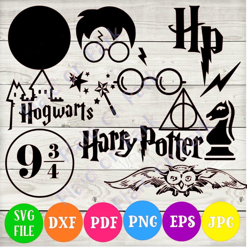 Download Harry Potter SVG, Hogwarts Png, Dxf, eps, pdf в 2020 г