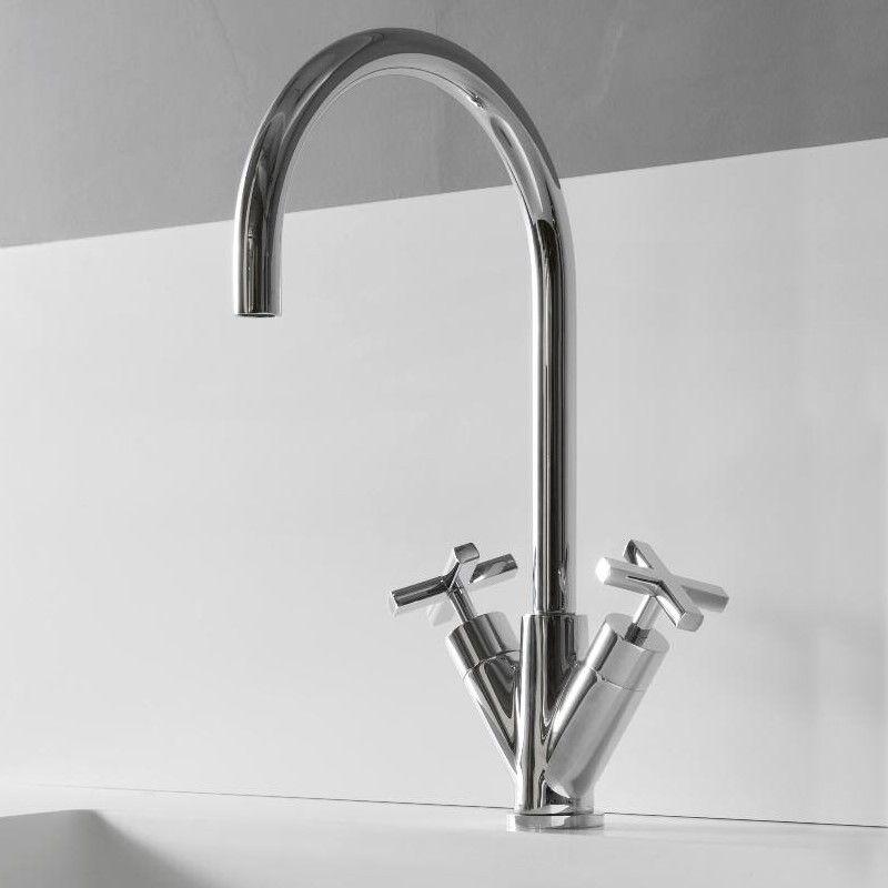 Treemme Küchenarmatur Line | chrom | schwenkbarer Auslauf ...