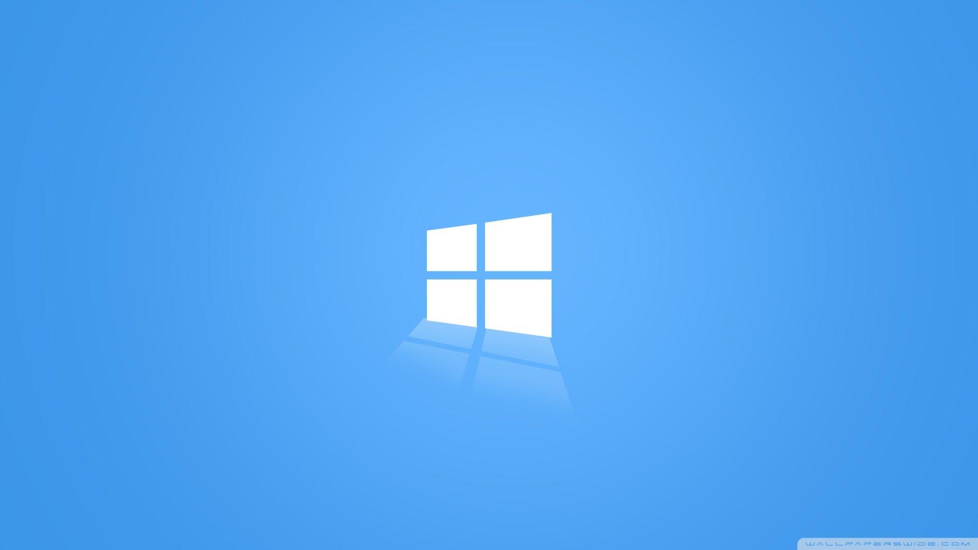 Windows Blue Hd Desktop Wallpaper Widescreen High Windows 10 Logo Wallpaper Windows 10 Windows 10