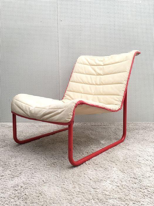 Kebe Danemark Chaise Longue Vintage Avec Monture Tubulaire Chromee Chaise Longue Chaise Meuble