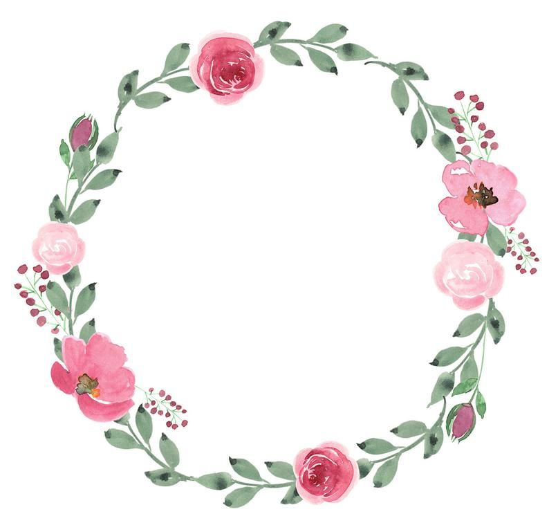 Pink Blush Wreath Roses Floral Frame Watercolor Flowers Etsy In 2021 Vector Flowers Floral Watercolor Flower Invitation Circle flower wallpaper images