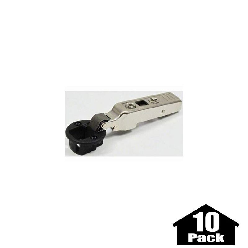 Blum 75t4100 10pack Clip Top Full Overlay Screw On Glass Cabinet