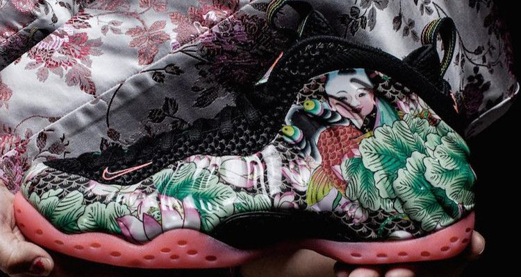 Nike Air Foamposite One Thermal Map KicksOnFire.com