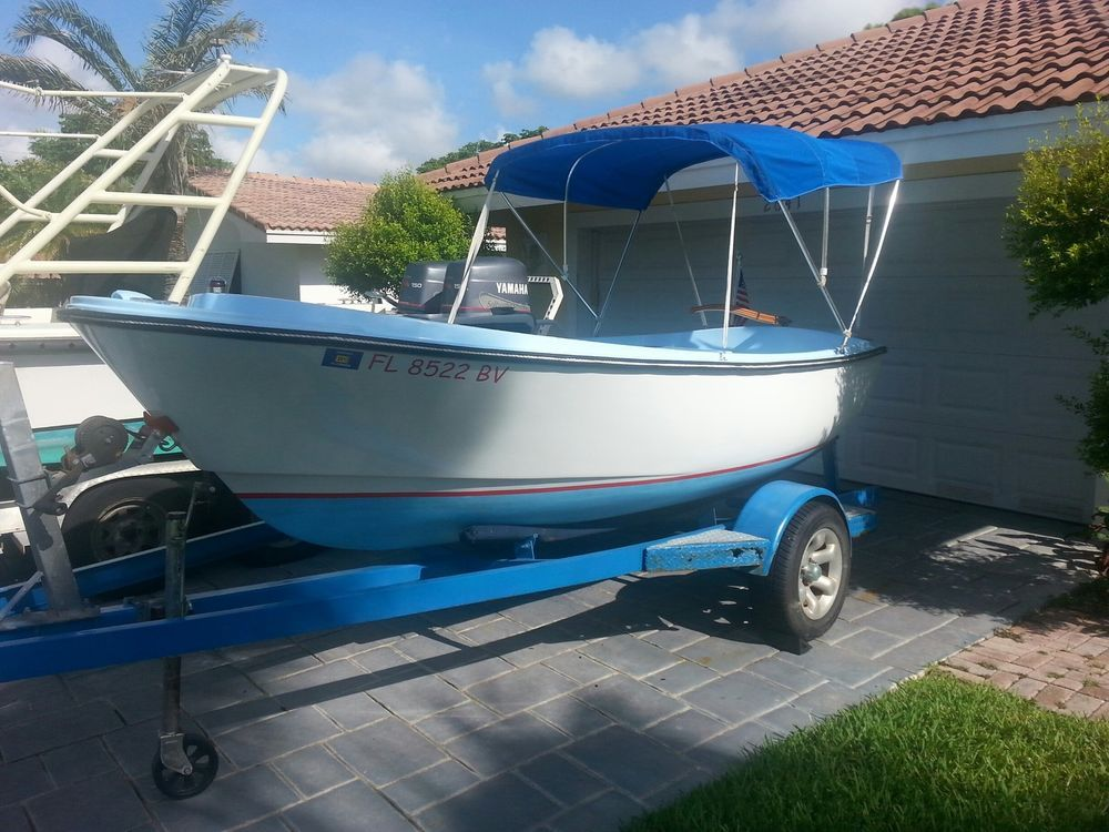 Bristol Pilot 15 Yacht Club LaunchTender With Inboard