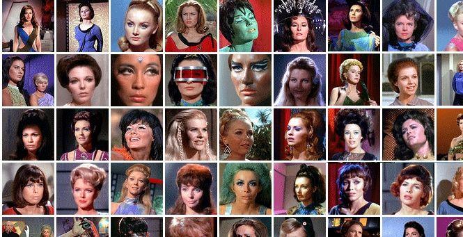 The women of Star Trek TOS.