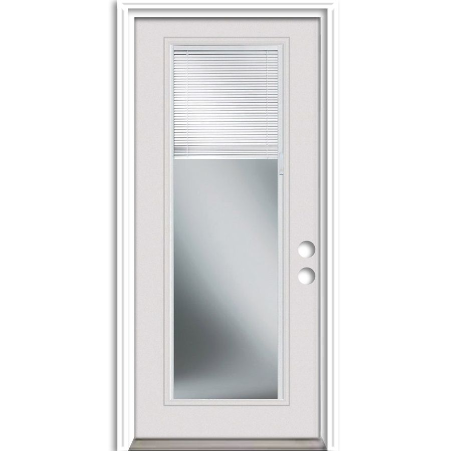 Reliabilt french insulating core blinds between the glass full lite