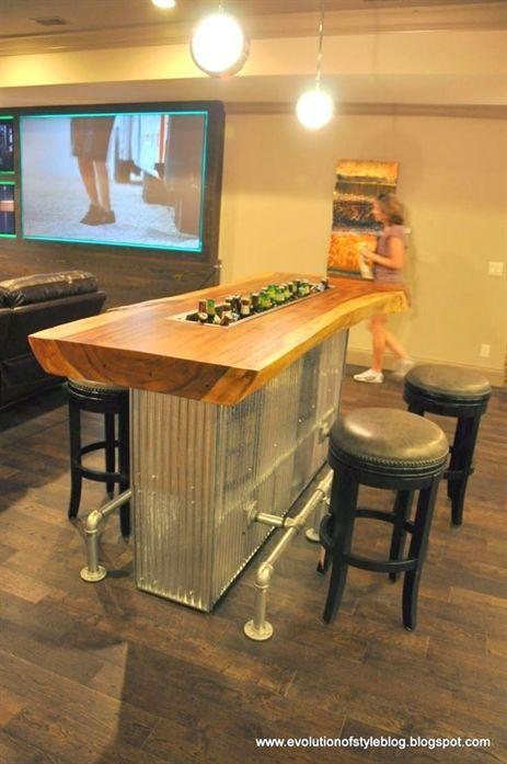 Fine 45 Low Budget Basement Bar Ideas Basement Bars Game Room Basement Bars For Home Man Cave Home Bar