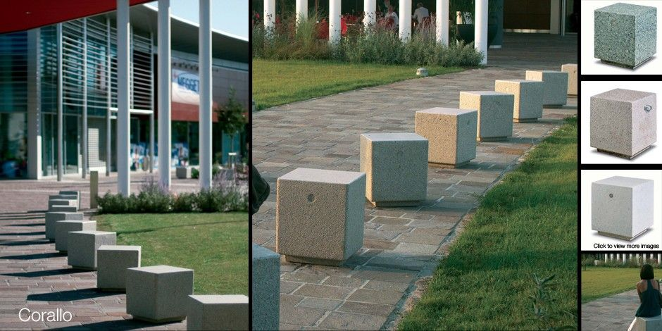 Corallo Concrete Bollards Bollards Pinterest Concrete Street Furniture And Cycle Shelters