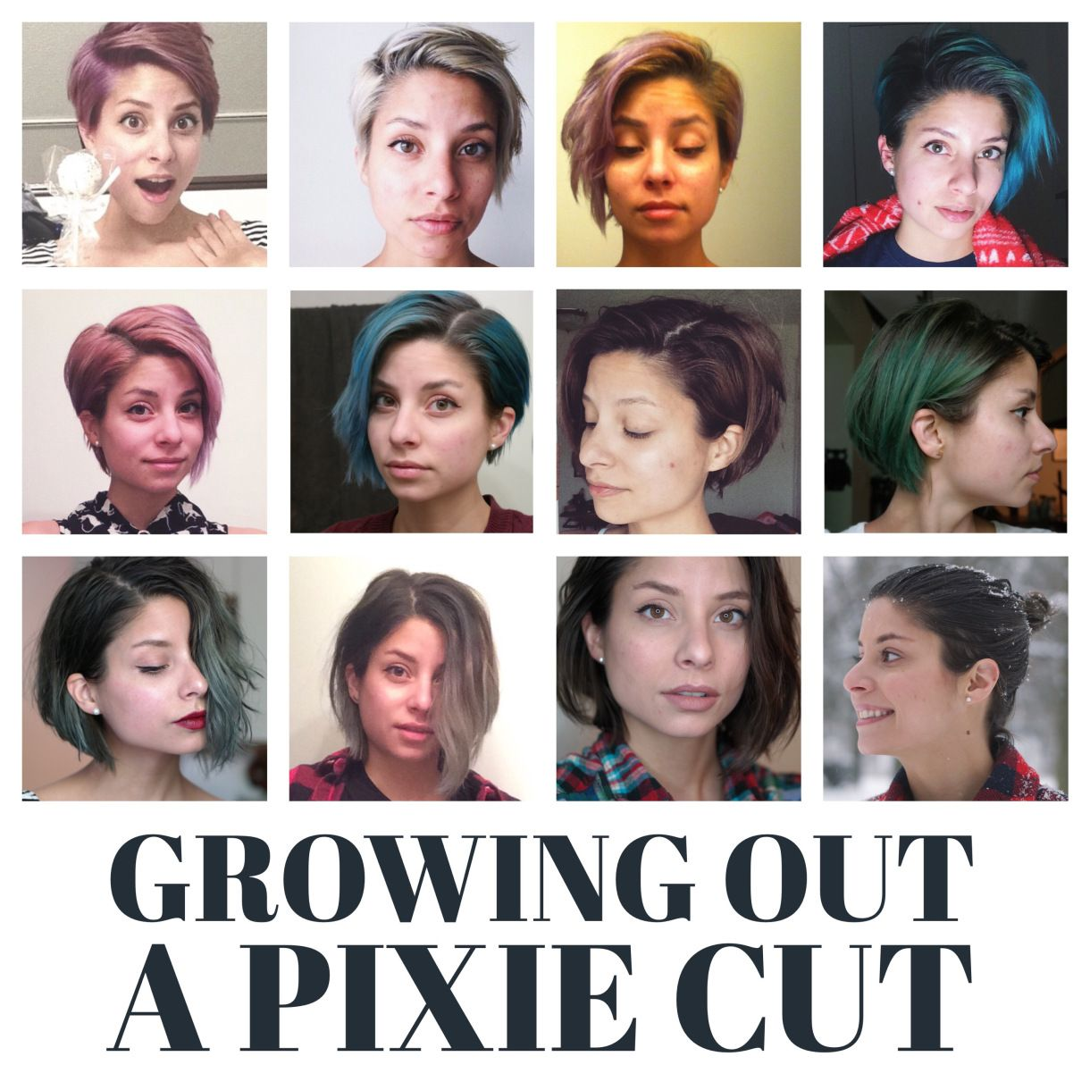 Love This Diagram Showing How To Grow Out Short Hair I M Growing Out My Hair Wish Me Luck Growing Out Hair Growing Out Short Hair Styles Hair Beauty