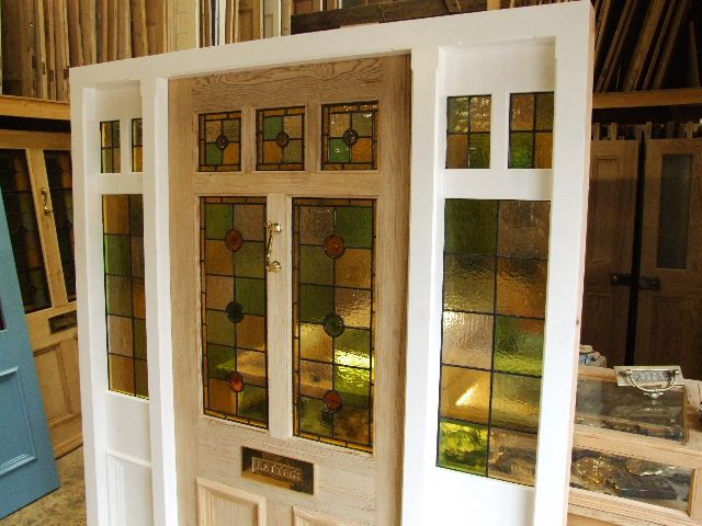 Front Doors With Glass Side Panels