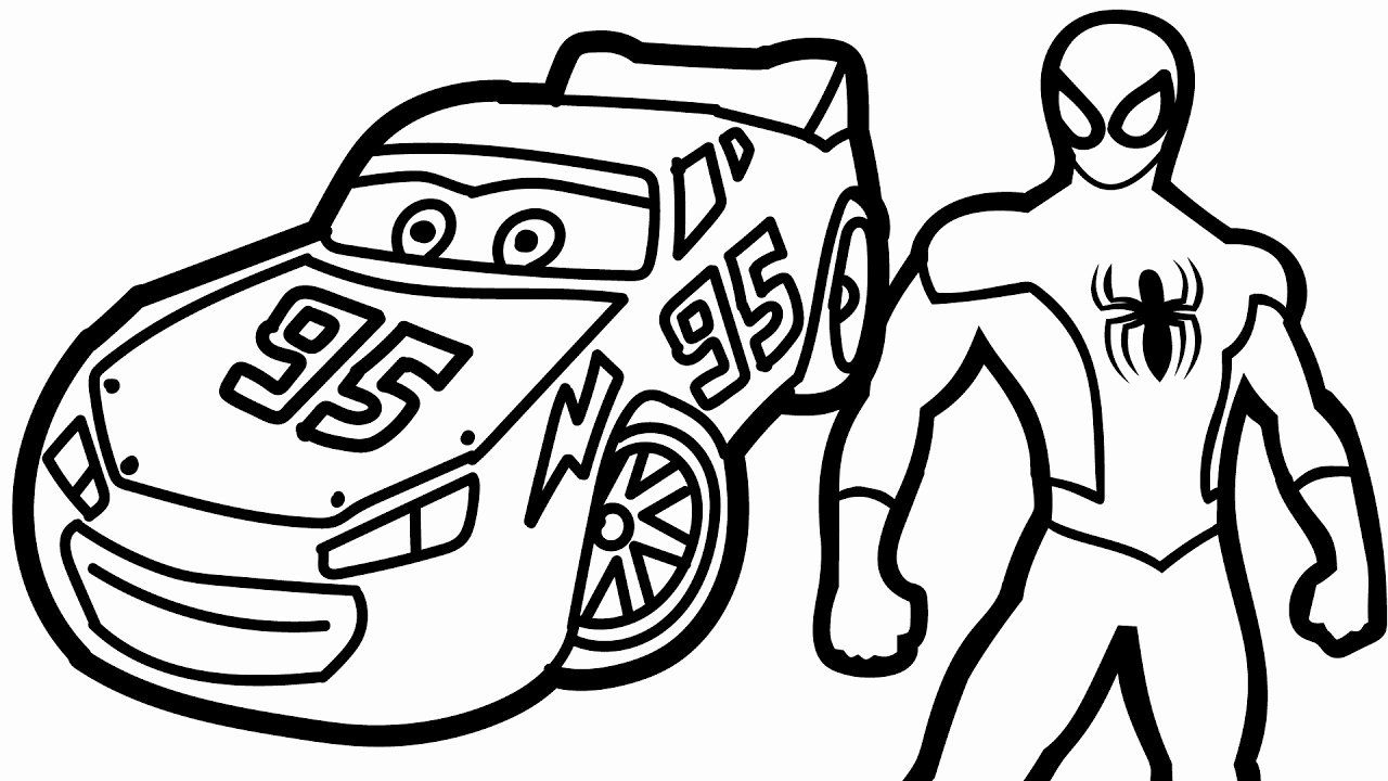 Lightning Mcqueen Coloring Page Inspirational 46 Lightning Mcqueen Coloring Pages Pdf Lightning Spiderman Coloring Superhero Coloring Pages Cars Coloring Pages