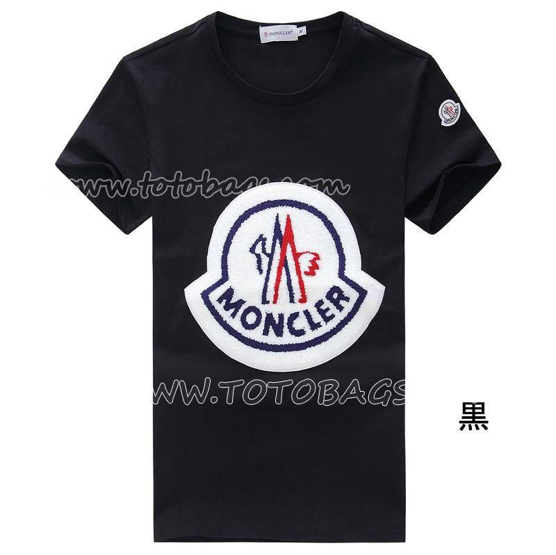 fe893cecd88f1 モンクレール Tシャツ SS18 チェーンステッチモンクレールロゴ