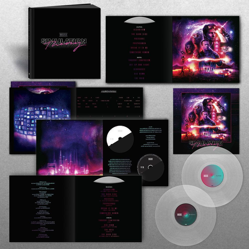 Muse Simulation Theory Super Deluxe Box Set Simulation Theory Muse Vinyl