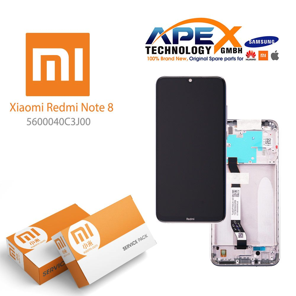 Xiaomi Redmi Note 8 LCD Display / Screen + Touch White-5600040C3J00- #Xiaomi #xiaomispare #xiaomispareparts #mobilspare #Redmi #mobilspareparts #lcddisplay #RedmiSeries #XiaomiRedmiNote8 #xiaomiredmi #xiaomiredminote8lcddisplay #apextechnology #redminote8 #redminote85600040C3J00