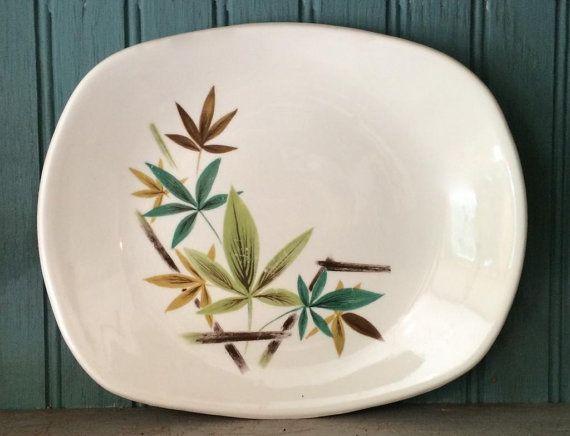 Salem China Woodhue Flair Plate by putnamandspeedwell
