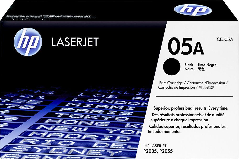 HP 05A HighYield Toner Cartridge Black Laser toner