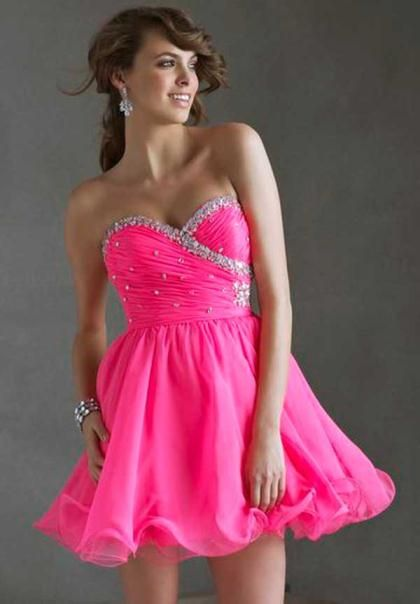 1000  images about neon on Pinterest - Neon- Hot pink dresses and ...