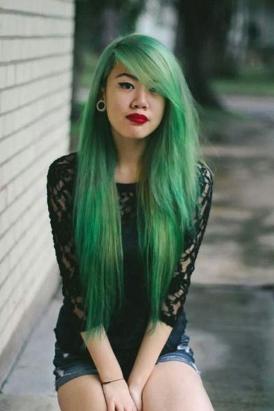 How long does semi permanent hair dye last semi permanent semi forest green hair semi permanent colours like this are a great way to make solutioingenieria Choice Image