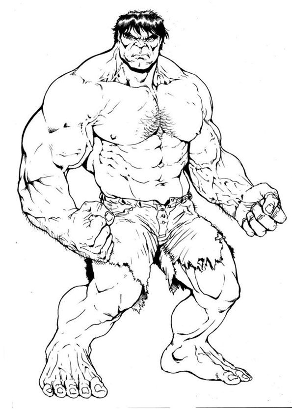 Hulk Coloring Page For Kids In 2020 Avengers Coloring Superhero Coloring Pages Superhero Coloring