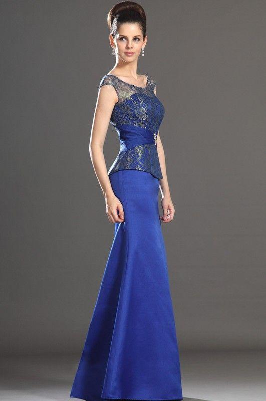 d4292b421 Vestidos de fiesta azul rey 3