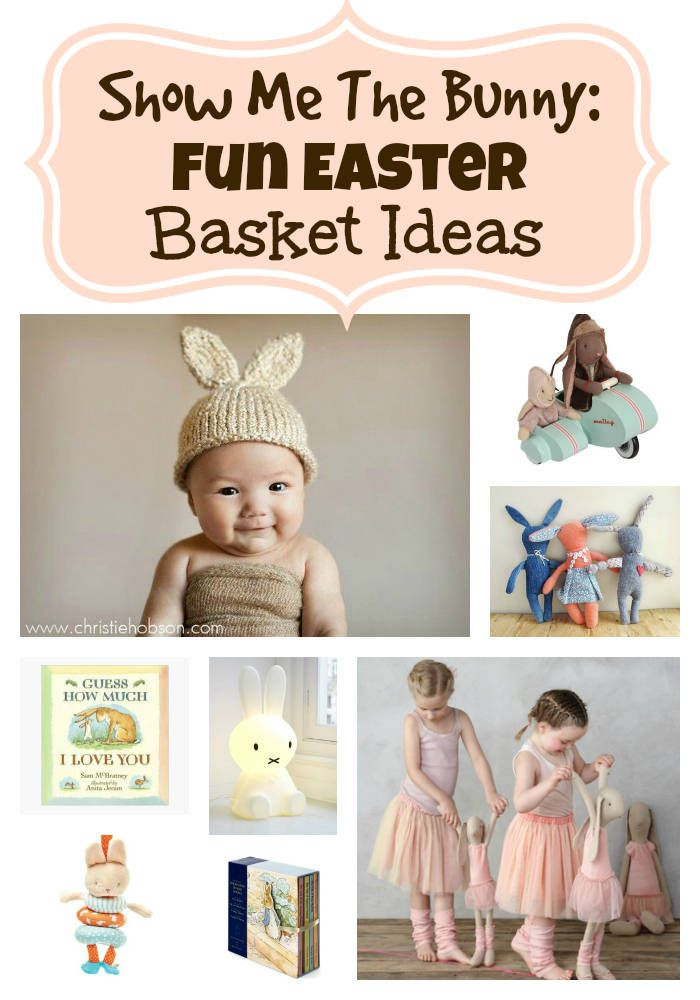 Show me the bunny fun easter basket ideas basket gift easter sugar free easter basket gift ideas negle Image collections