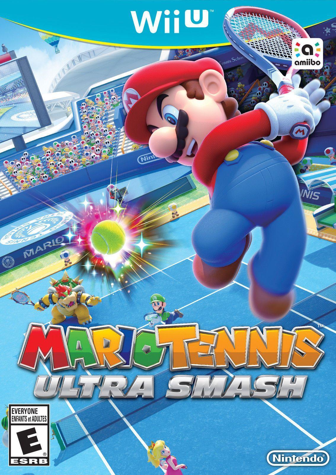 Details about Mario Tennis Ultra Smash (Wii U, 2015) Wii