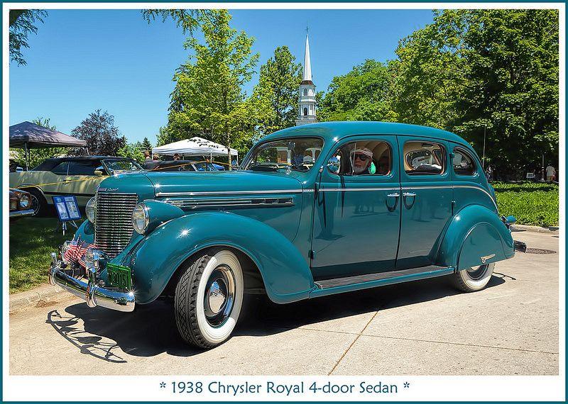 1938 Chrysler Royal 4 Door Sedan Chrysler Sedan Classic Cars