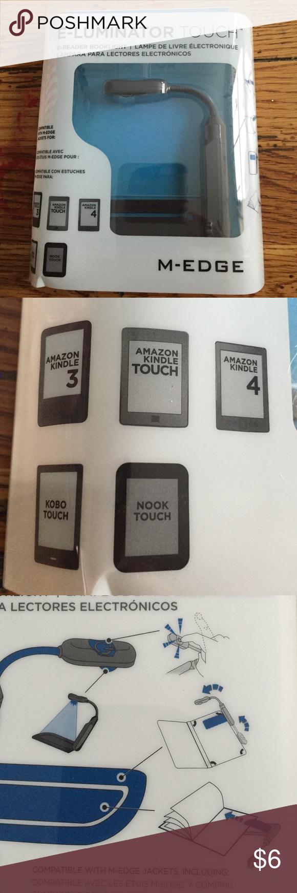 E Luminator Touch E Reader Book Light New Book Lights Ereader Books Books