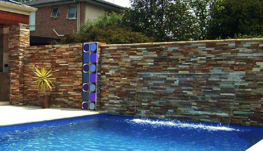 Best Designs For Outdoor Wall Art: Swimming Pool Art By Zinc FX ~  Mybutteryfly.