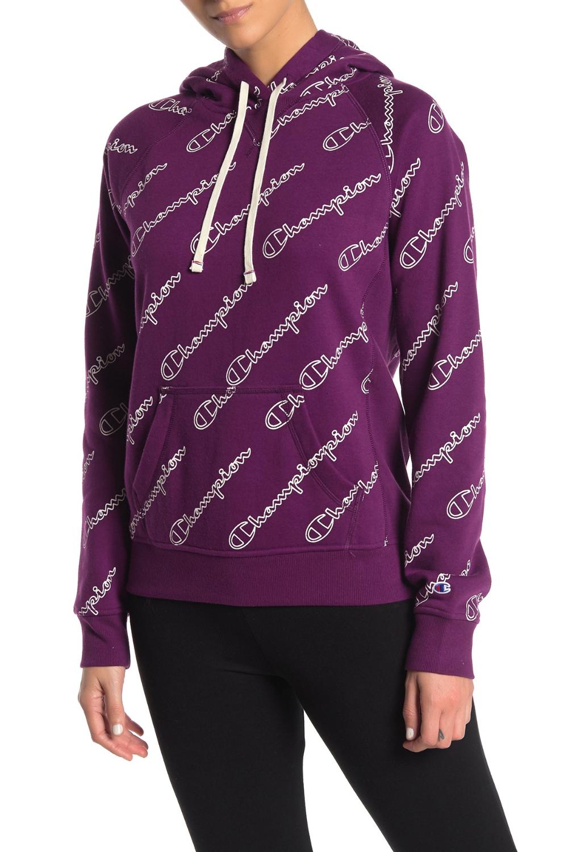 Champion | Heritage Logo Fleece Lined Pullover Hoodie #nordstromrack