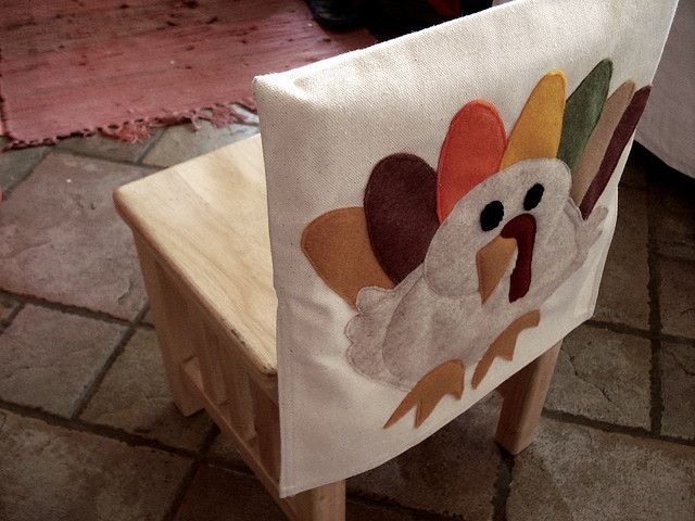 Super Turkey Chair Cover By Wildolive Via Flickr Holiday Gmtry Best Dining Table And Chair Ideas Images Gmtryco