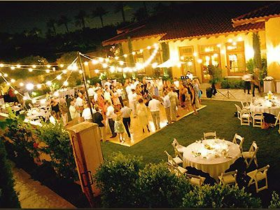 Miramonte Resort And Spa Palm Springs Wedding Venue Indian Wells Backyard Wedding Decorations Wedding Backyard Reception Outdoor Wedding