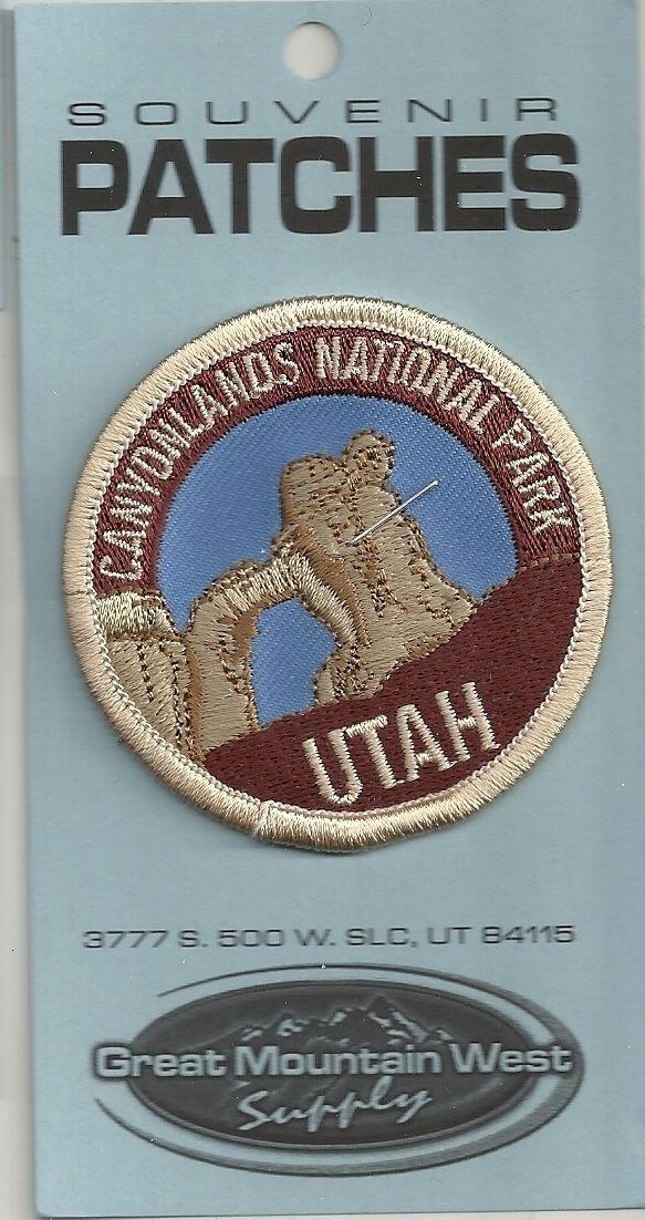 Traveler Series 3 Utah Iron on Canyonlands National Park Patch