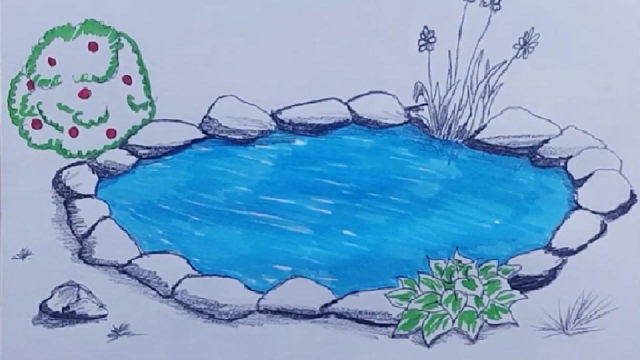 Manzara Resmi Cizimi In 2020 Outdoor Blanket Outdoor Beach Mat