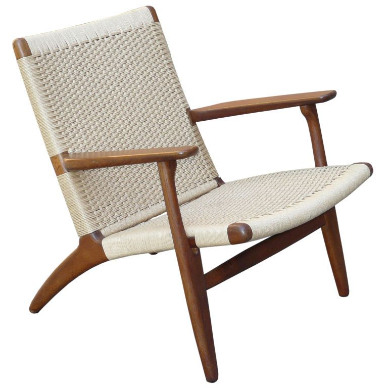 Hans Wegner For Carl Hansen Son CH Lounge Chair Hans Wegner - Hansen patio furniture